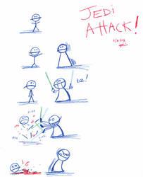 Jedi Attack by KilikX