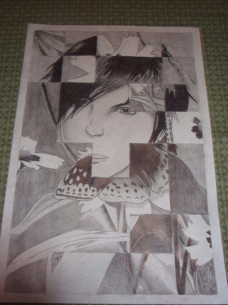 Tiled Graphite by JokerTracey