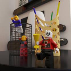 Lego and something else by Egarshan