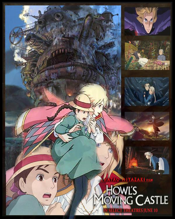Howl's Moving Castle by LordMaru4U