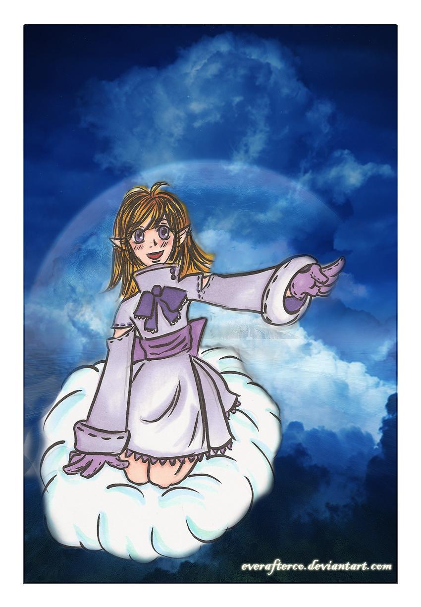 Atsuko: Blue Cloud by LordMaru4U