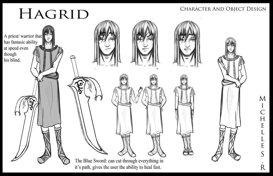 Hagrid Character Profile by LordMaru4U