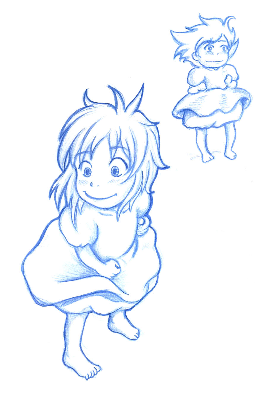 Ponyo by LordMaru4U