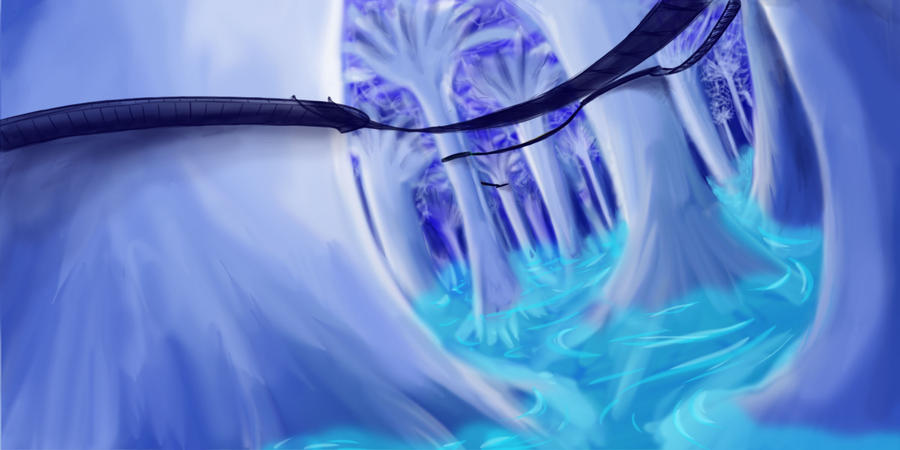 White Forest et Blue Waters by LordMaru4U