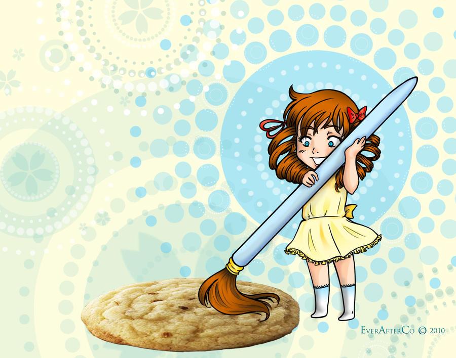 Cookie Girl by LordMaru4U