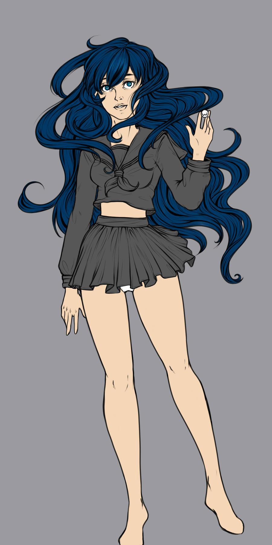 Guardian of the Shikon no Tama Basic coloring by LordMaru4U