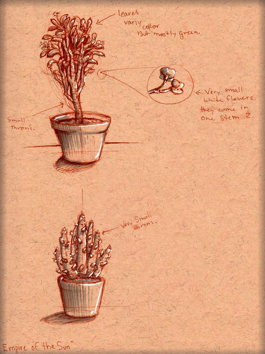 Plant Study 3 by LordMaru4U