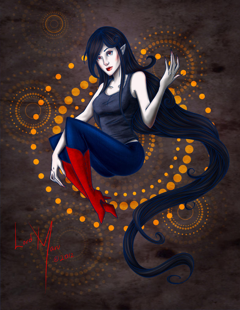 Marceline The Vampire Queen by LordMaru4U