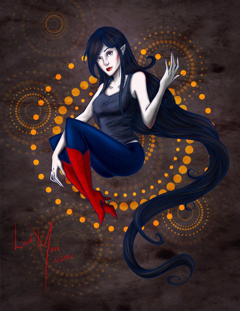 Marceline The Vampire Queen by LordMaru4U