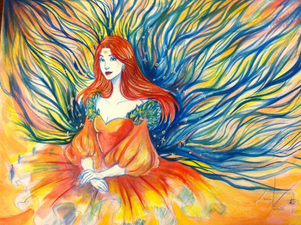 Watercolor by LordMaru4U