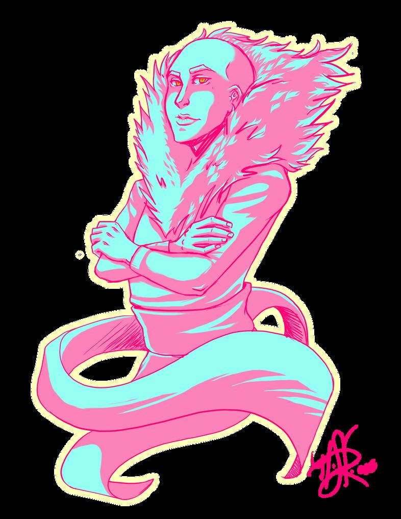 Pink Man by LordMaru4U