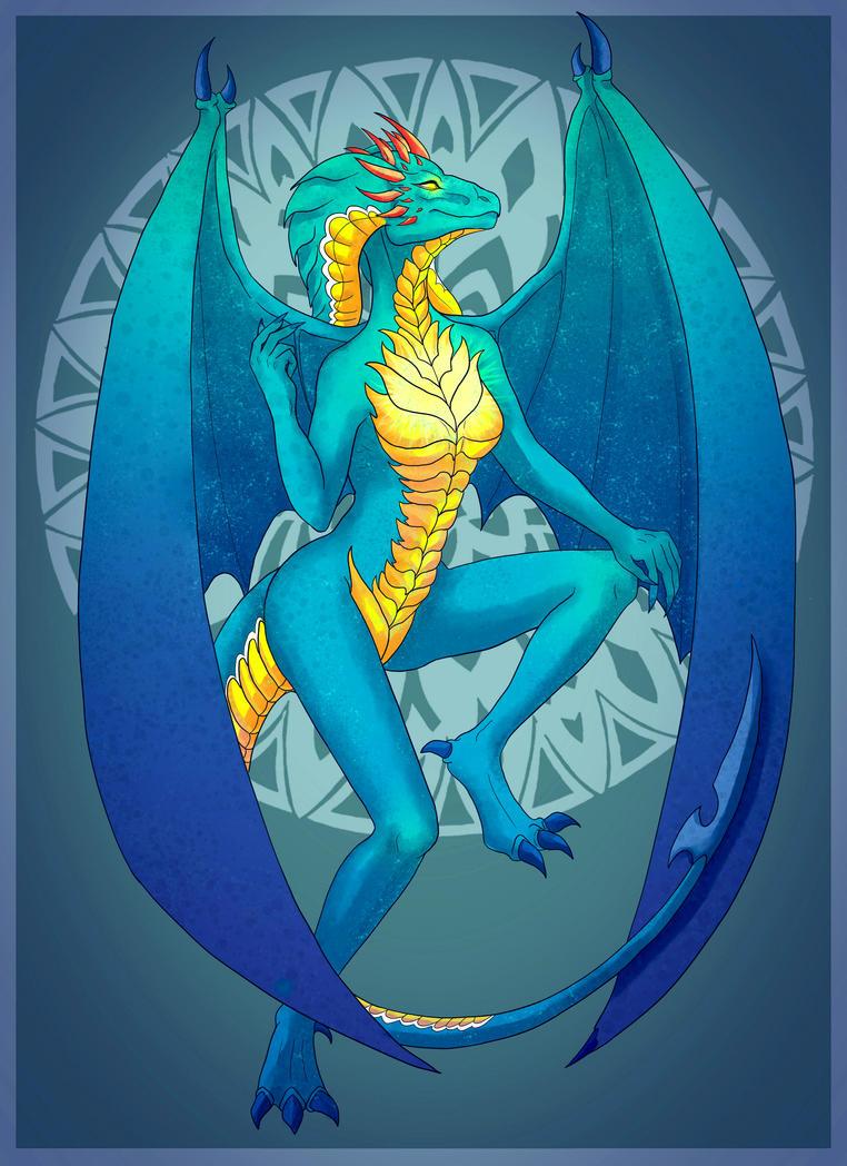 Dragon Anthro Design -OPEN- by LordMaru4U