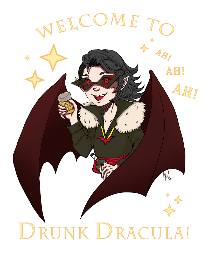 Welcome to Drunk Dracula by LordMaru4U