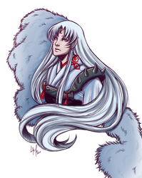 Sesshomaru 2017 by LordMaru4U