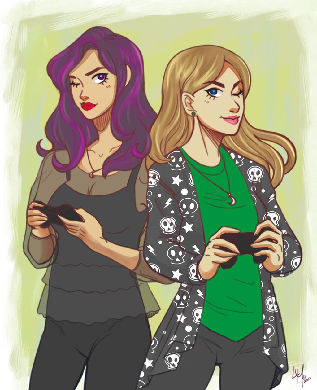 Megan and Me by LordMaru4U