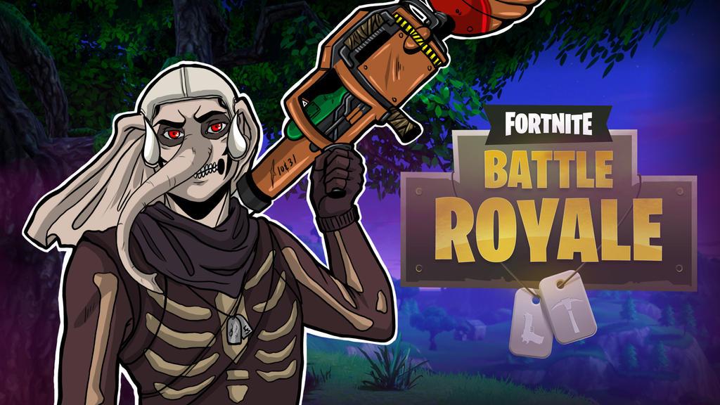 Fortnite BR Boy Gorillaphent Thumbnail by LordMaru4U
