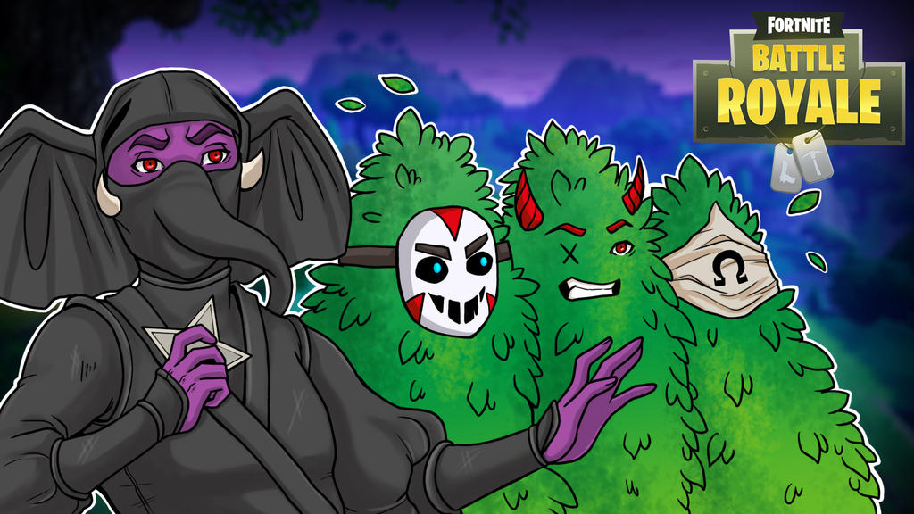 Fortnight Gorillaphent Feat. H2O, Cartoonz,OHM by LordMaru4U