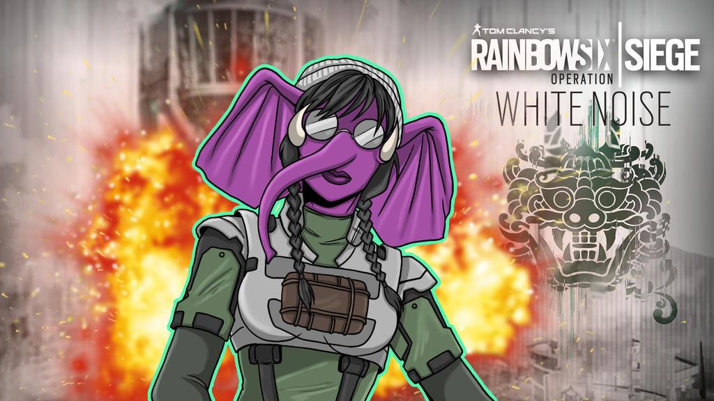 Rainbow Six Siege Gorillaphent Zofia by LordMaru4U