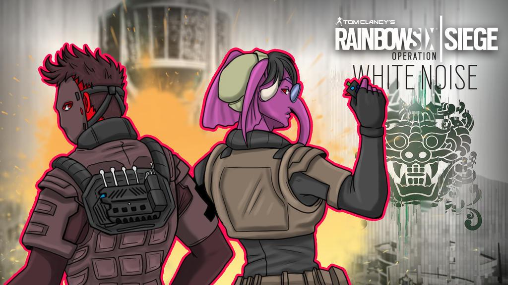 Rainbow Six Siege Gorillaphent ft.Cartoonz by LordMaru4U