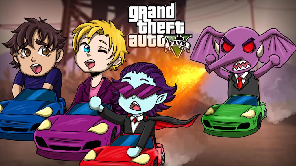 GTAV Gorillaphent Mini Racers by LordMaru4U