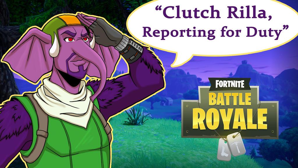 Fortnite BR Clutch Rilla by LordMaru4U