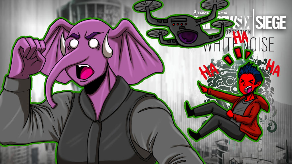 Rainbow Six Siege ft. Cartoonz lolz by LordMaru4U