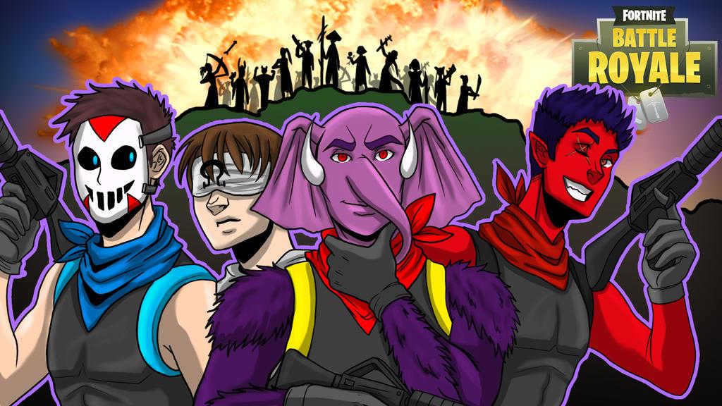 Fortnite BR Friendship Army by LordMaru4U