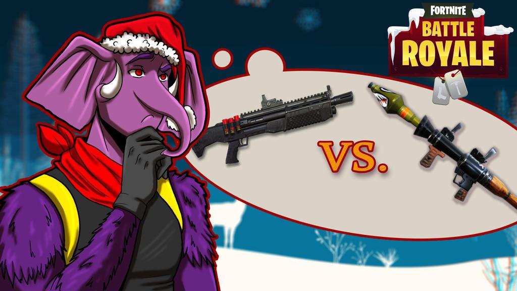 Fortnite BR shotgun vs RPG by LordMaru4U