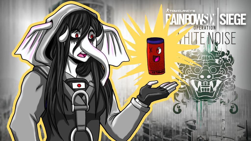 Rainbow Six Siege GorillaHibana and AlexisToonz by LordMaru4U