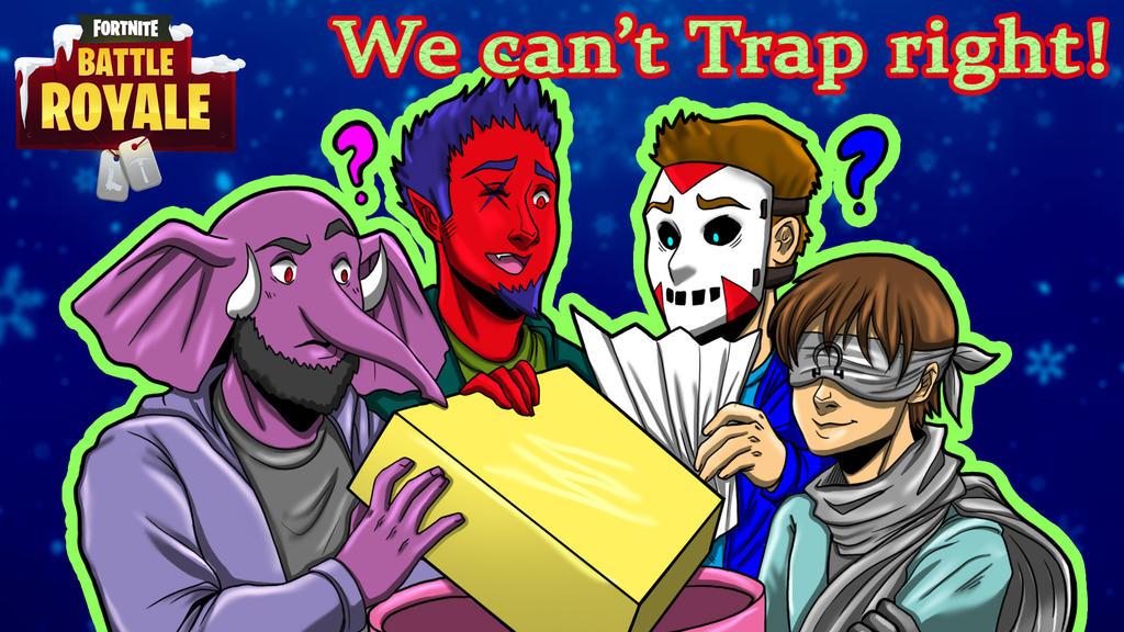 Fortnite BR Can't trap right by LordMaru4U