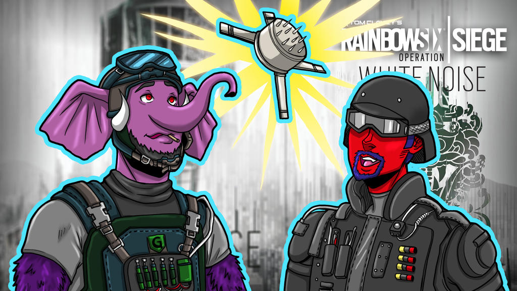 Rainbow Six Siege Floating Trap by LordMaru4U