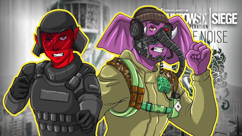 Rainbow Six Siege WN Teamwork by LordMaru4U