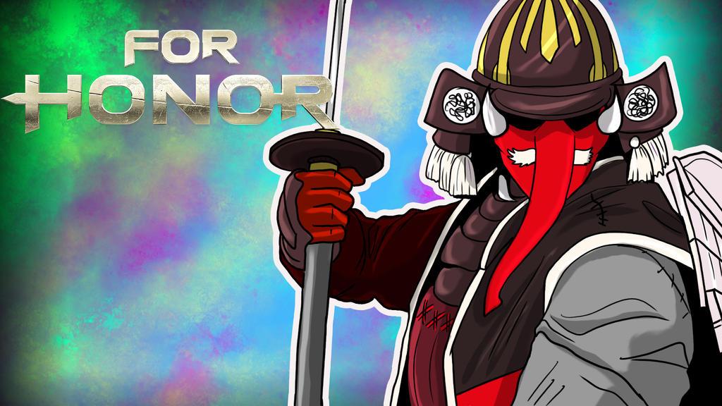 For Honor Kenshi by LordMaru4U