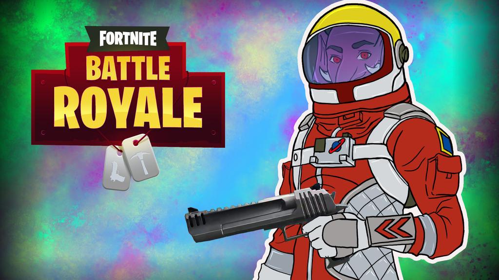 Fortnite Bg Astronaut by LordMaru4U
