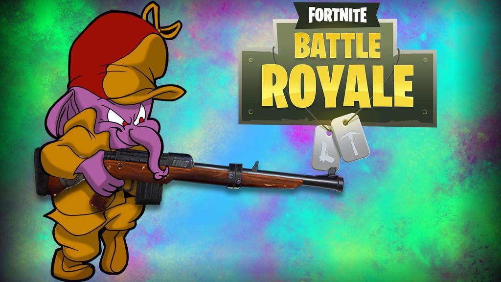 Fortnite BR Gorilla-Elmer by LordMaru4U