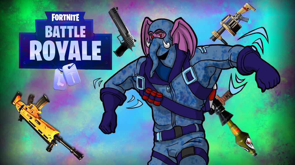 Fortnite BR Gorilla Dance by LordMaru4U