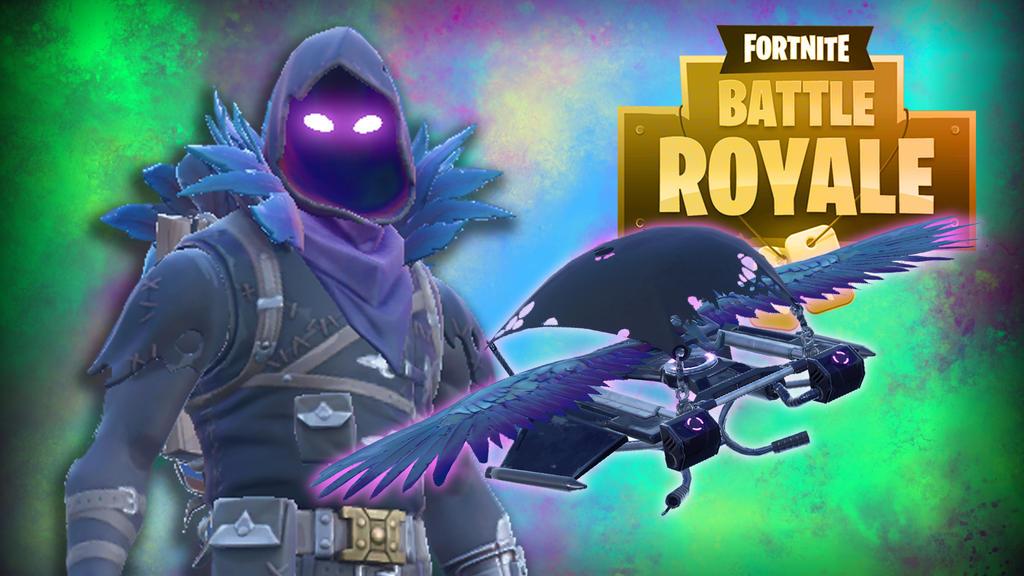 Fortnite BR -Raven Mage by LordMaru4U