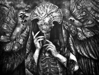 angel of death - hellboy 2 by schaetzle