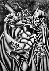batman - mark bagley homage