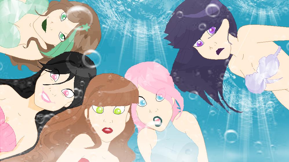 APG in Disney mermaids Style. by YumiTsunkino