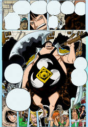 One piece ch 599 page 14 color