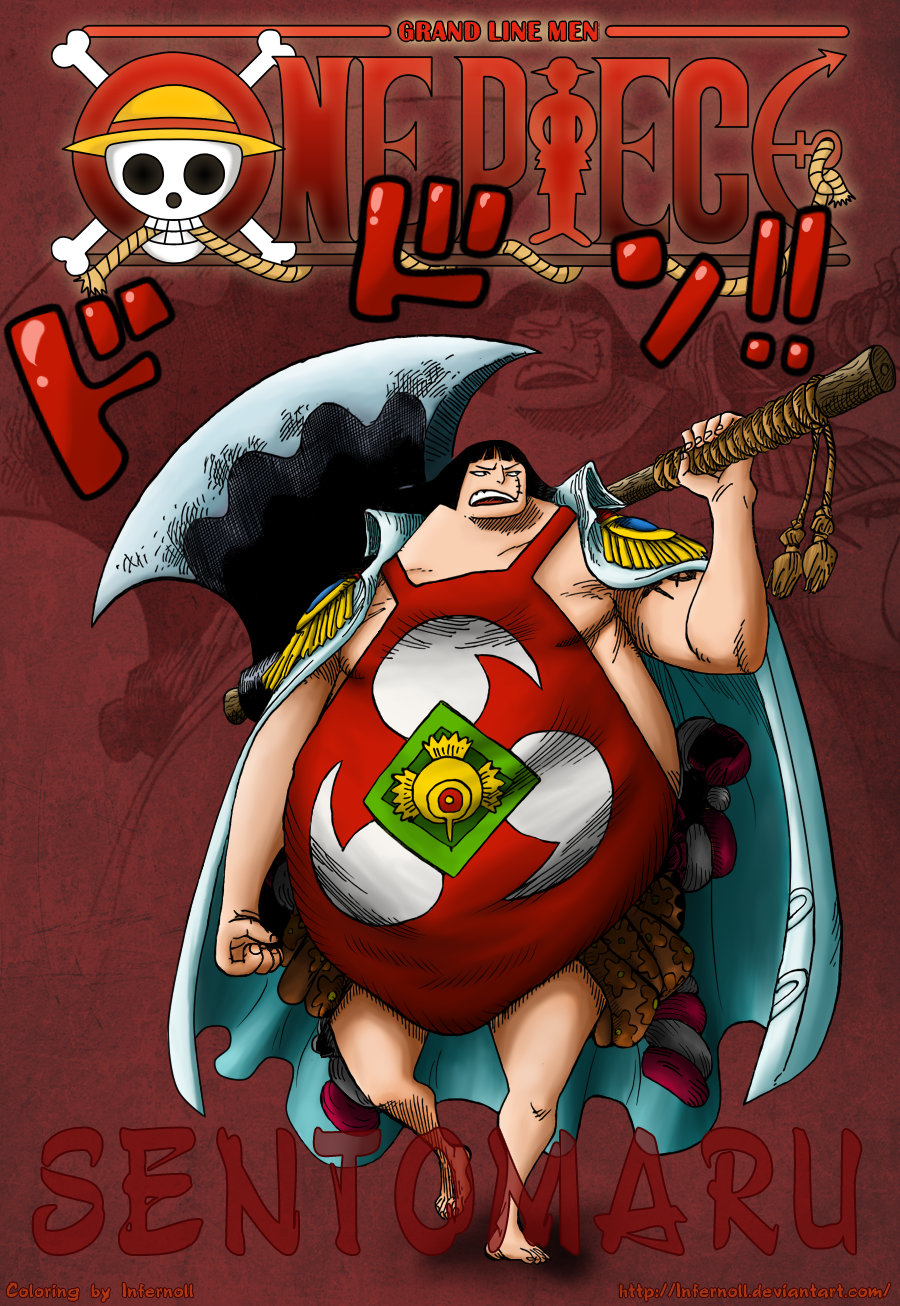 One Piece 599 Sentomaru