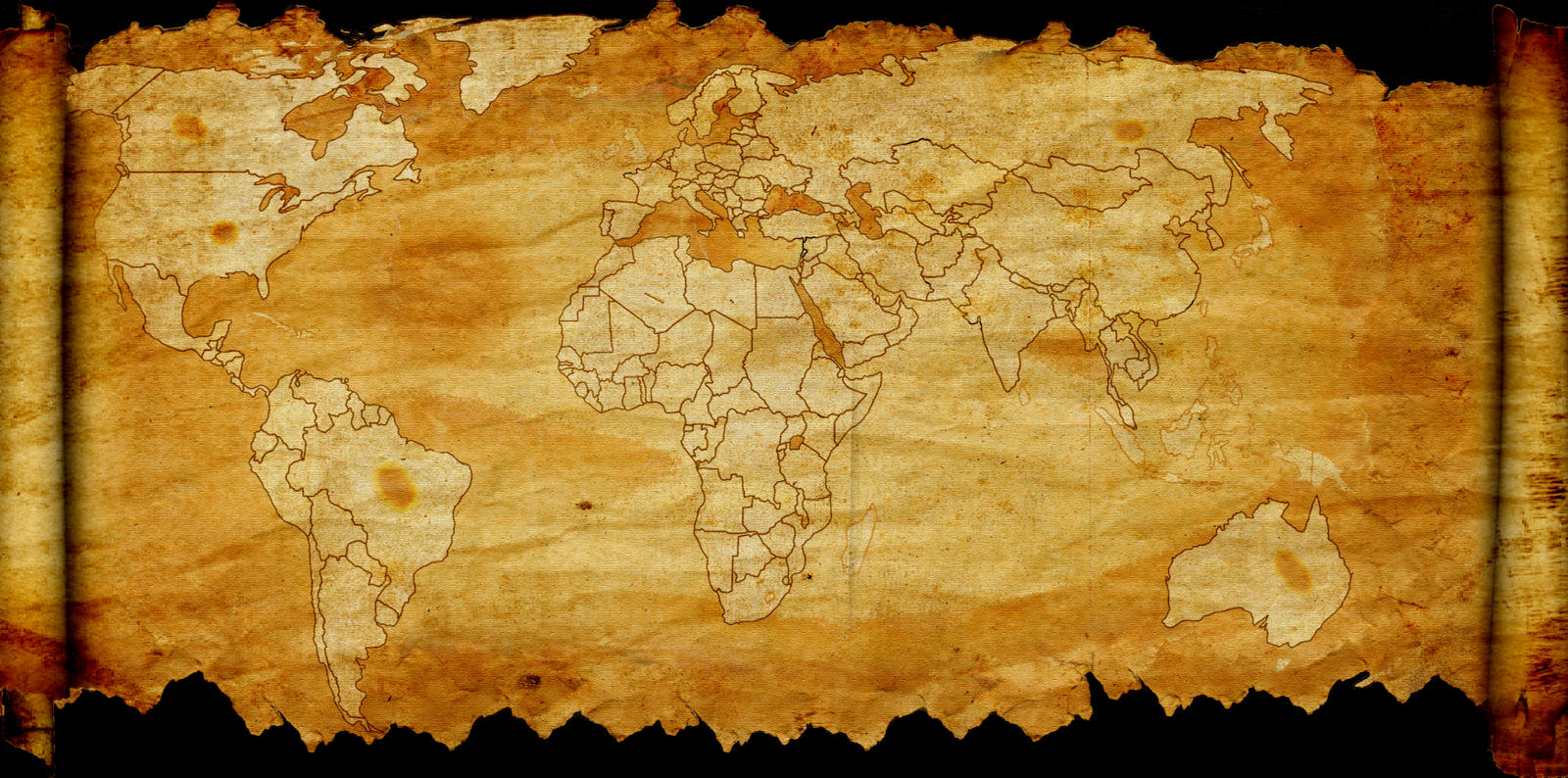 Old new world map by plamber on deviantart old new world map by plamber gumiabroncs Images