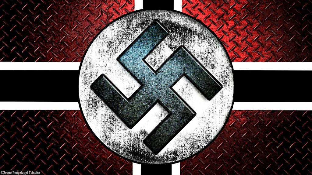 Suastica Nazista By Plamber