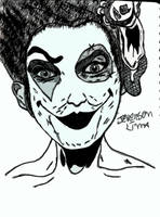 scary girl clown #2 by JeversonLima