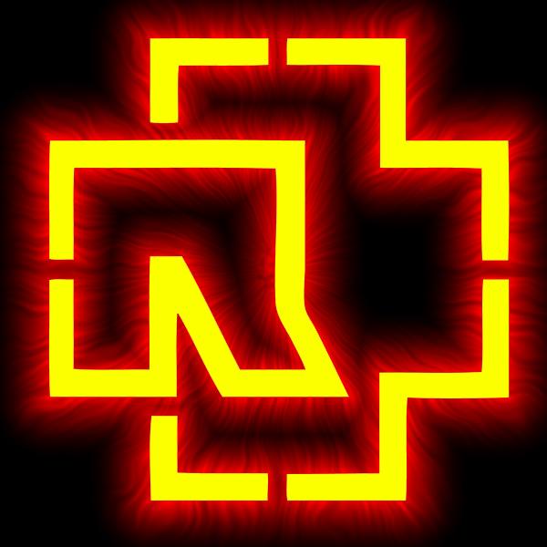 логотип rammstein: