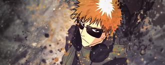 Ichigo with splatters by TurinAnglachel