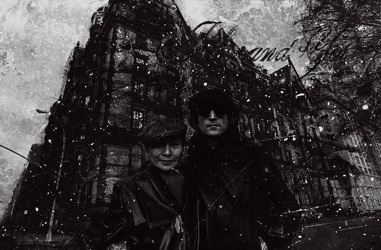 John and Yoko.. by TurinAnglachel