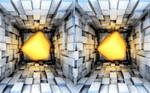 Stereoscopic Cube