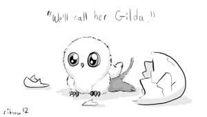 Hatchling Gilda by Ribnose